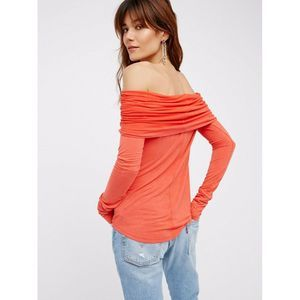 Free People •M• Cosmo Cowl Neck Off Shoulder Top